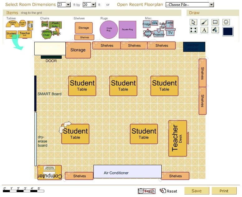 Scale Up Classroom Design And Use Can Facilitate Learning ~ Tuesday s tool classroom architect emints national